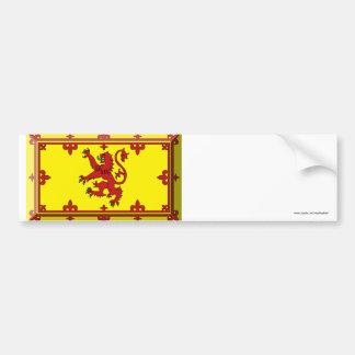 Scotland Lion Flag Jewel Bumper Sticker
