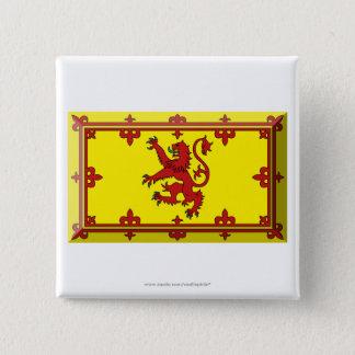 Scotland Lion Flag Jewel Pinback Button