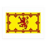 Scotland Lion Flag Postcard