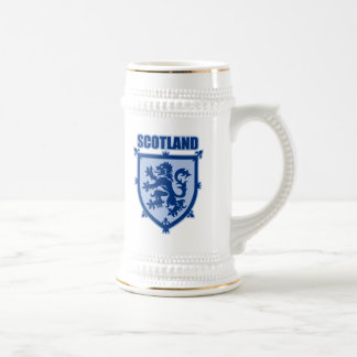Scotland Lion Rampant Coat of Arms Beer Stein