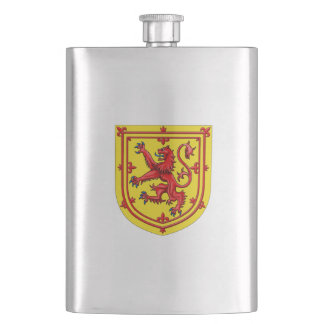 Scotland Lion Rampant Coat Of Arms Flask