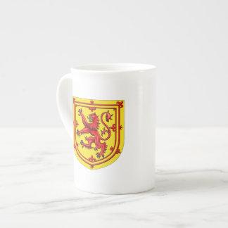 Scotland Lion Rampant Coat Of Arms Tea Cup