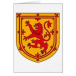 Scotland Lion Rampant Shield Greeting Card