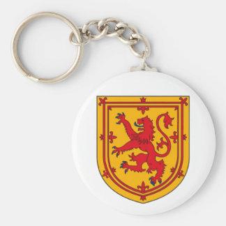 Scotland Lion Rampant Shield Keychain