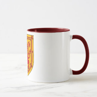 Scotland Lion Rampant Shield Mug