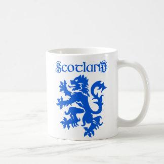 Scotland Lion Rampant with Uncial Typeface Mug