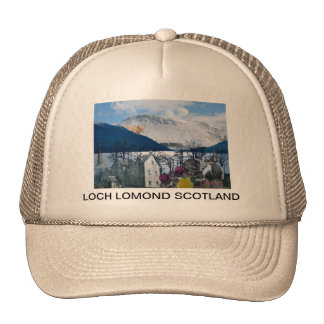 SCOTLAND LOCH LOMOND TRUCKER HATS