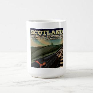 Scotland Locomotive Travel Poster Coffee Mug