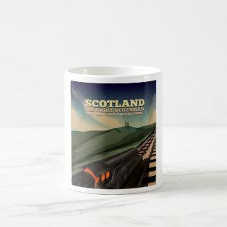 Scotland Locomotive Travel Poster Magic Mug