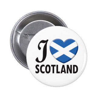 Scotland Love 2 Inch Round Button