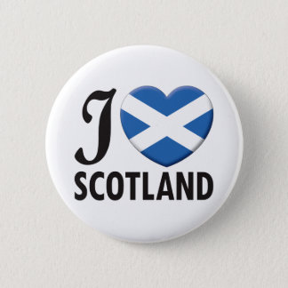 Scotland Love Pinback Button