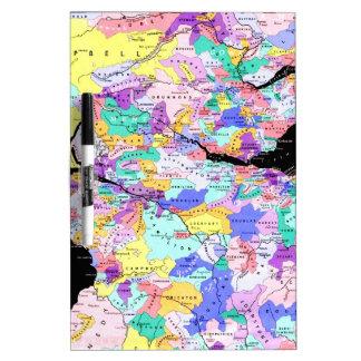Scotland Map Scottish Clans Photo Dry-Erase Whiteboard