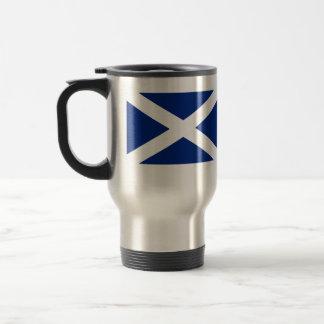 Scotland(Navy Blue), United Kingdom flag 15 Oz Stainless Steel Travel Mug