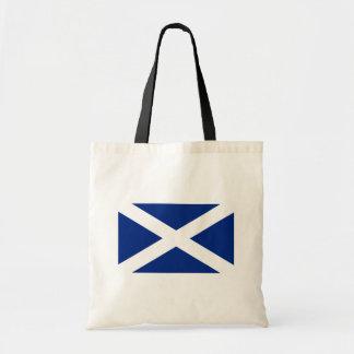 Scotland(Navy Blue), United Kingdom flag Budget Tote Bag