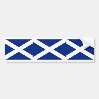Scotland(Navy Blue), United Kingdom flag Car Bumper Sticker