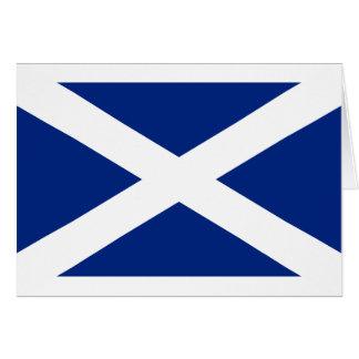 Scotland(Navy Blue), United Kingdom flag Greeting Card