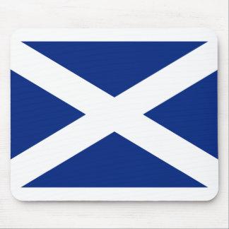 Scotland(Navy Blue), United Kingdom flag Mouse Pad