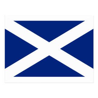 Scotland(Navy Blue), United Kingdom flag Postcard