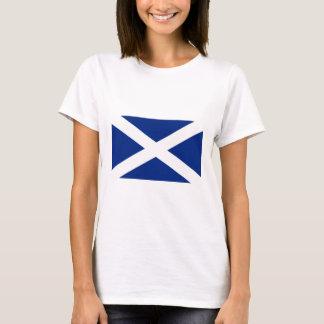 Scotland(Navy Blue), United Kingdom flag T-Shirt