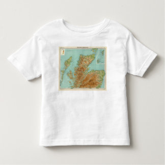 Scotland northern section toddler t-shirt