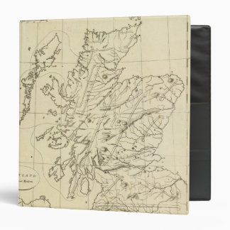 Scotland outline binder