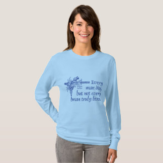 Scotland Quote, Sir William Wallace, Thistle T-Shirt