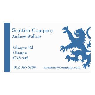 Scotland Rampant Lion Business Card