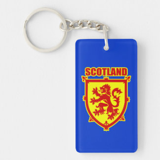 Scotland Rampant Lion Coat of Arms Keychain