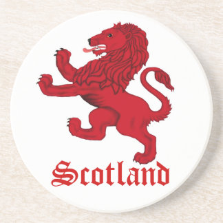 Scotland, Rampant lion Drink Coasters
