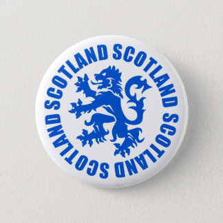 Scotland Rampant Lion Emblem Button
