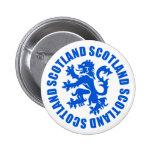 Scotland Rampant Lion Emblem Buttons