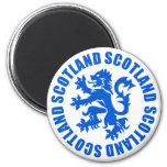 Scotland Rampant Lion Emblem Fridge Magnet