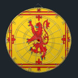 "Scotland red lion rampant Flag Dartboard<br><div class=""desc"">Scotland red lion rampant Flag . Image used on this item are licensed and  &#169; Graphics Factory.com</div>"