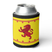 Scotland red Rampant lion Can Cooler