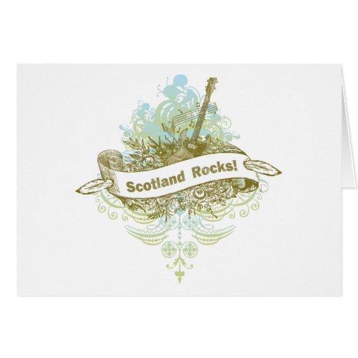 Scotland Rocks Greeting Cards