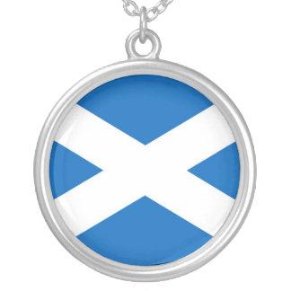 SCOTLAND ROUND PENDANT NECKLACE
