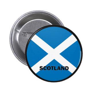 Scotland Roundel quality Flag Button