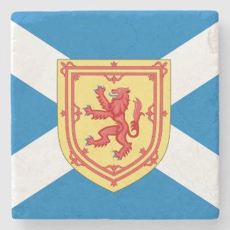 Scotland Royal Arms and Flag Stone Beverage Coaster