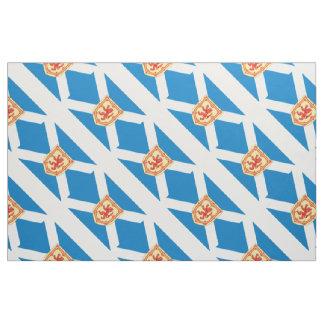 Scotland Royal Arms Flag Pattern Fabric