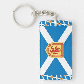 Scotland Royal Arms Flag Pattern Single-Sided Rectangular Acrylic Keychain