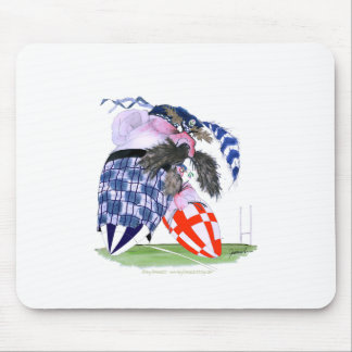 scotland rugby ball, tony fernandes mouse pad