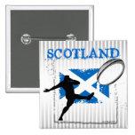 Scotland Rugby Button