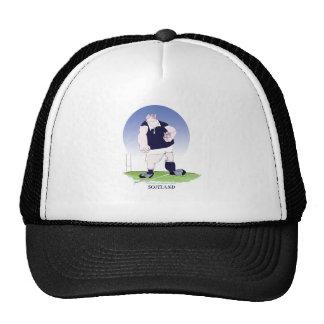 scotland rugby player, tony fernandes trucker hat