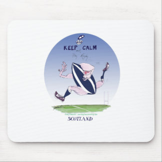scotland rugby, tony fernandes mouse pad