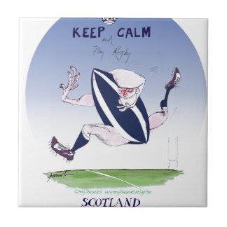 scotland rugby, tony fernandes ceramic tile