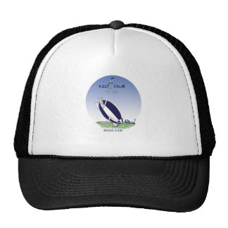 scotland rugby, tony fernandes trucker hat