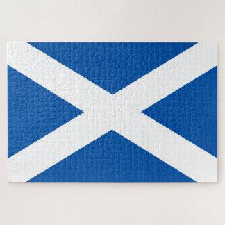 Scotland Saint Andrew's flag/Bonnie blue 1014piece Jigsaw Puzzle
