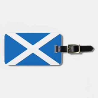 Scotland Saltire Luggage Tag