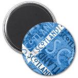Scotland Saltire Magnet