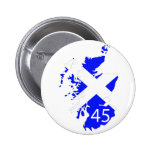 Scotland Saltire Map Pin